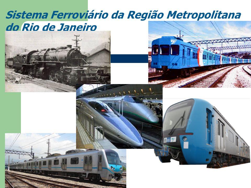 Introdução A história da origem do Sistema Ferroviário – Estrada de Ferro Maúa – Estrada de Ferro Dom Pedro II – Estrada de Ferro Rio D' Ouro – Estrad