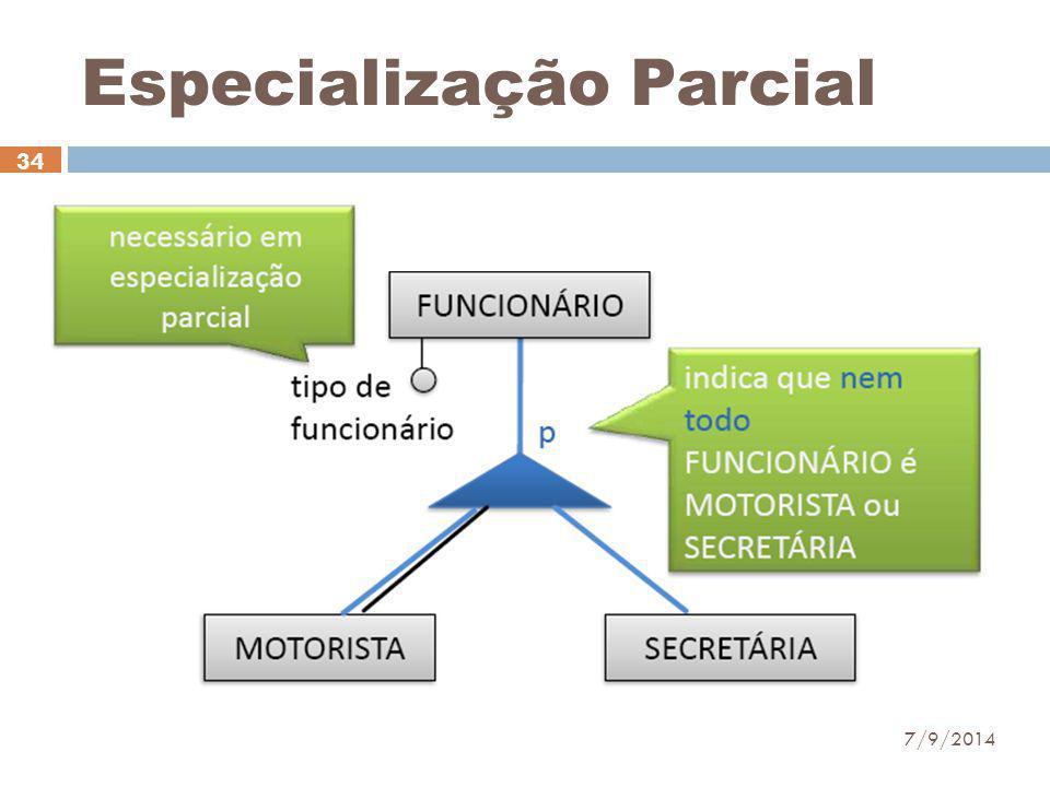 Especialização Parcial 7/9/2014 34