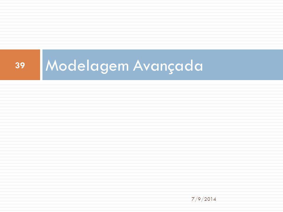Modelagem Avançada 7/9/2014 39