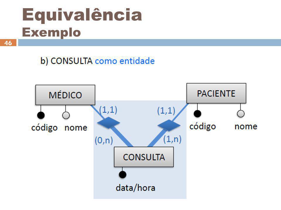 Ceça Moraes 46 Equivalência Exemplo