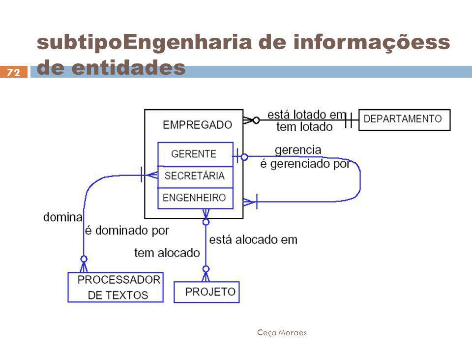 Ceça Moraes 72 subtipoEngenharia de informaçõess de entidades