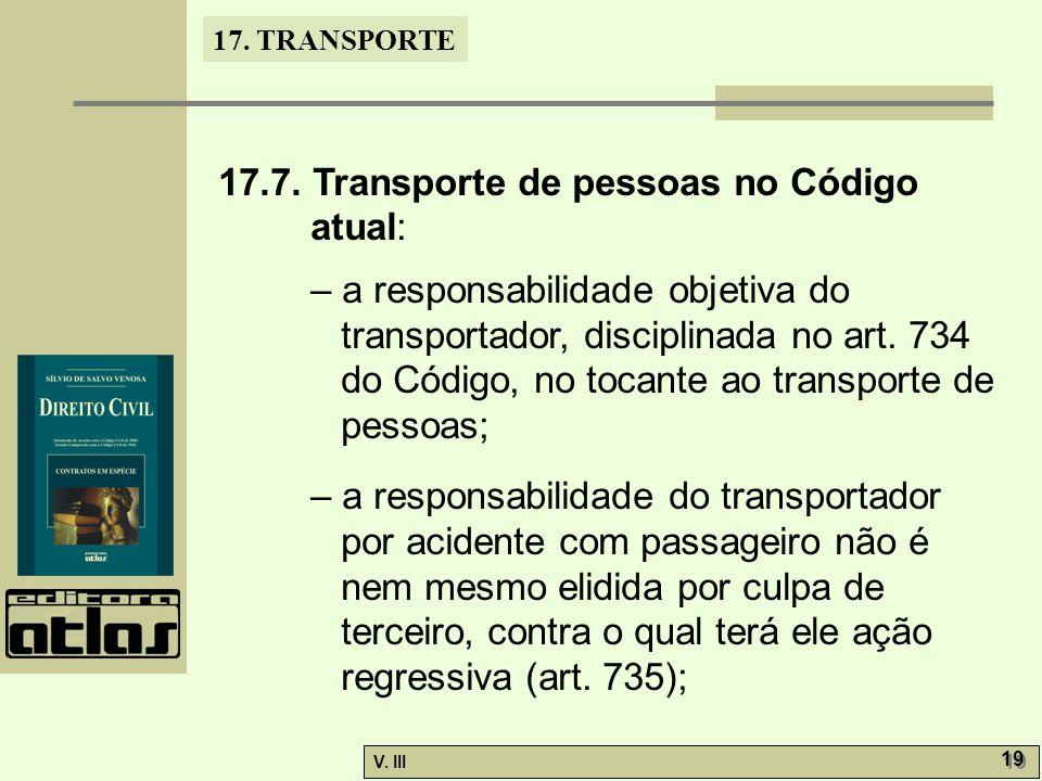 17.TRANSPORTE V. III 20 – o parágrafo único do art.