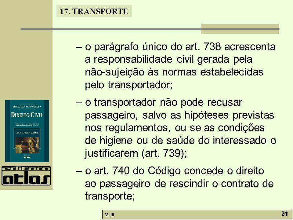 17.TRANSPORTE V. III 22 – o art.