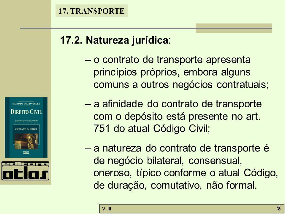 17.TRANSPORTE V. III 6 6 17.2.1.