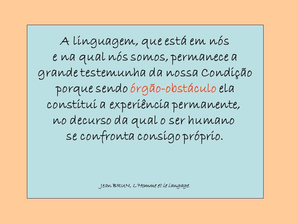 A Linguagem como poder Agir pela Linguagem As palavras são portadoras e geradoras de ideias, […].