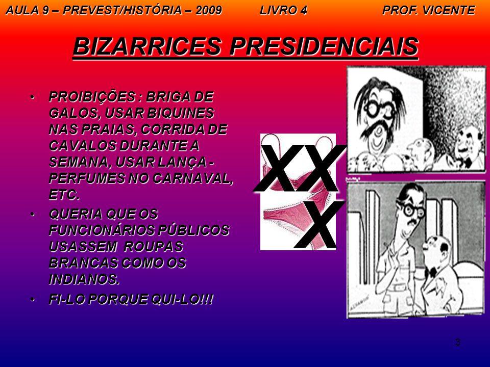 3 BIZARRICES PRESIDENCIAIS PROIBIÇÕES : BRIGA DE GALOS, USAR BIQUINES NAS PRAIAS, CORRIDA DE CAVALOS DURANTE A SEMANA, USAR LANÇA - PERFUMES NO CARNAVAL, ETC.PROIBIÇÕES : BRIGA DE GALOS, USAR BIQUINES NAS PRAIAS, CORRIDA DE CAVALOS DURANTE A SEMANA, USAR LANÇA - PERFUMES NO CARNAVAL, ETC.