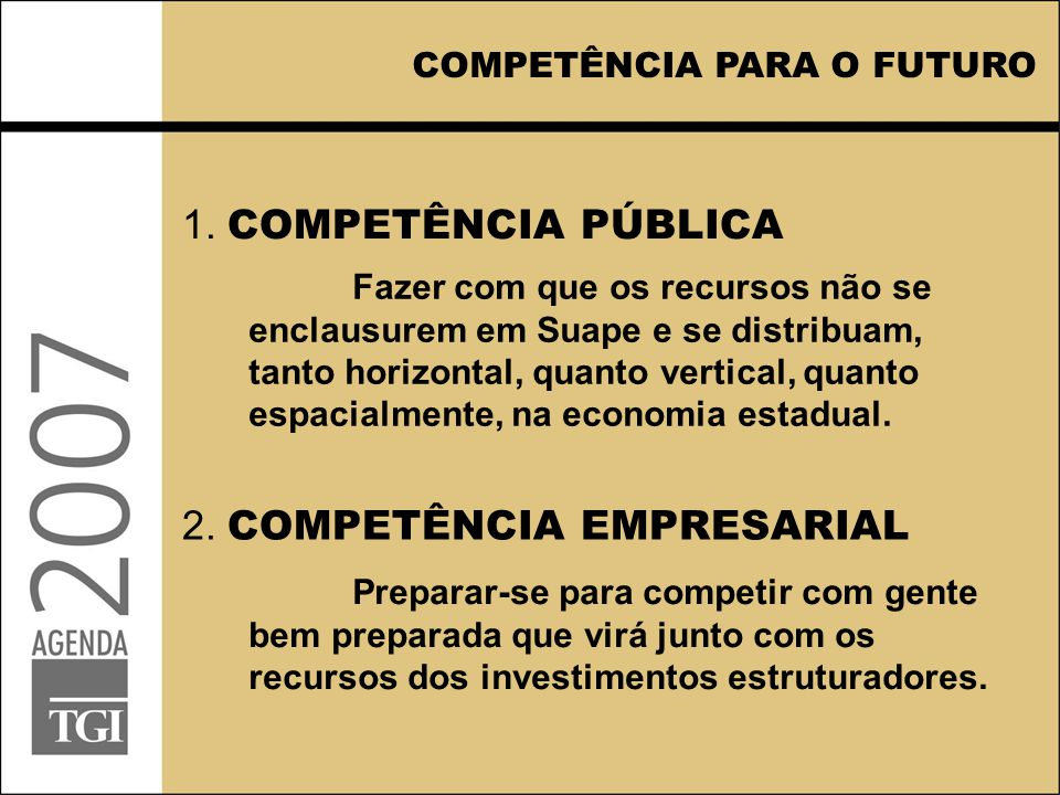 2. COMPETÊNCIA EMPRESARIAL 1.