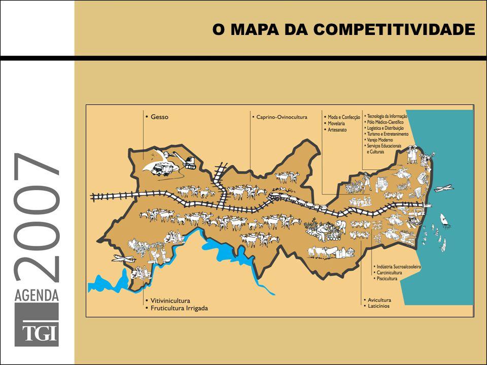 O MAPA DA COMPETITIVIDADE