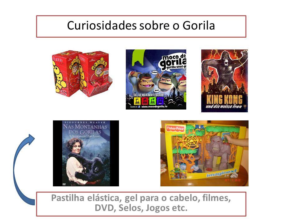 O Gorila é um animal em extinção Para ajudar os gorilas houve em londres uma corrida onde os atletas estavam vestidos de gorilas.
