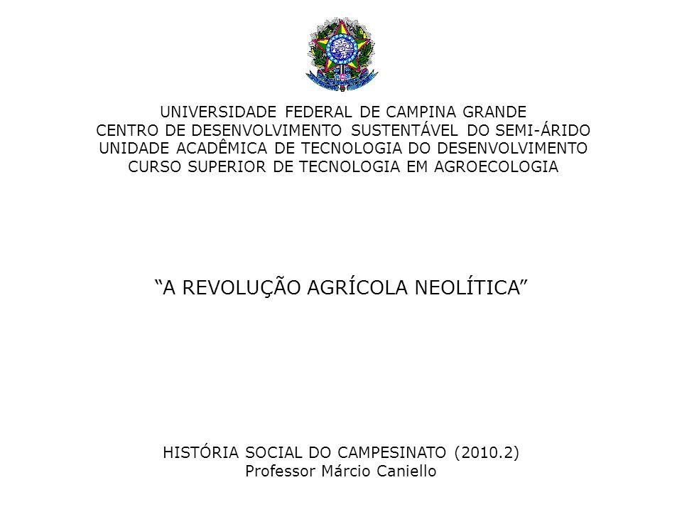 """CENTRO DE DESENVOLVIMENTO SUSTENTÁVEL DO SEMI-ÁRIDO UNIDADE ACADÊMICA DE TECNOLOGIA DO DESENVOLVIMENTO CURSO SUPERIOR DE TECNOLOGIA EM AGROECOLOGIA """"A"""