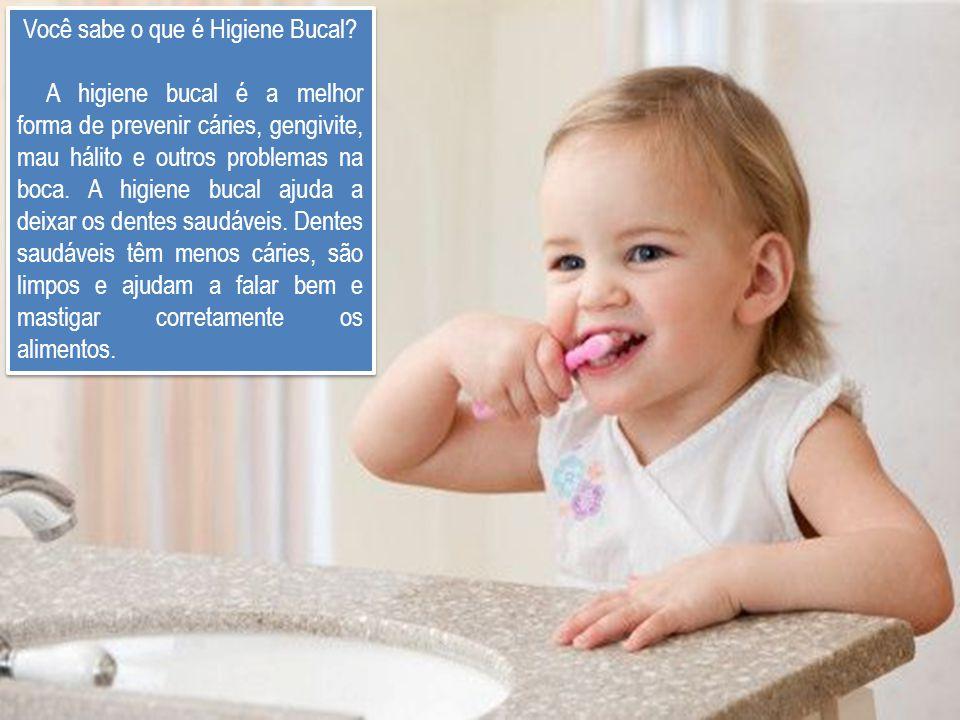 Você sabe o que é Higiene Bucal? A higiene bucal é a melhor forma de prevenir cáries, gengivite, mau hálito e outros problemas na boca. A higiene buca