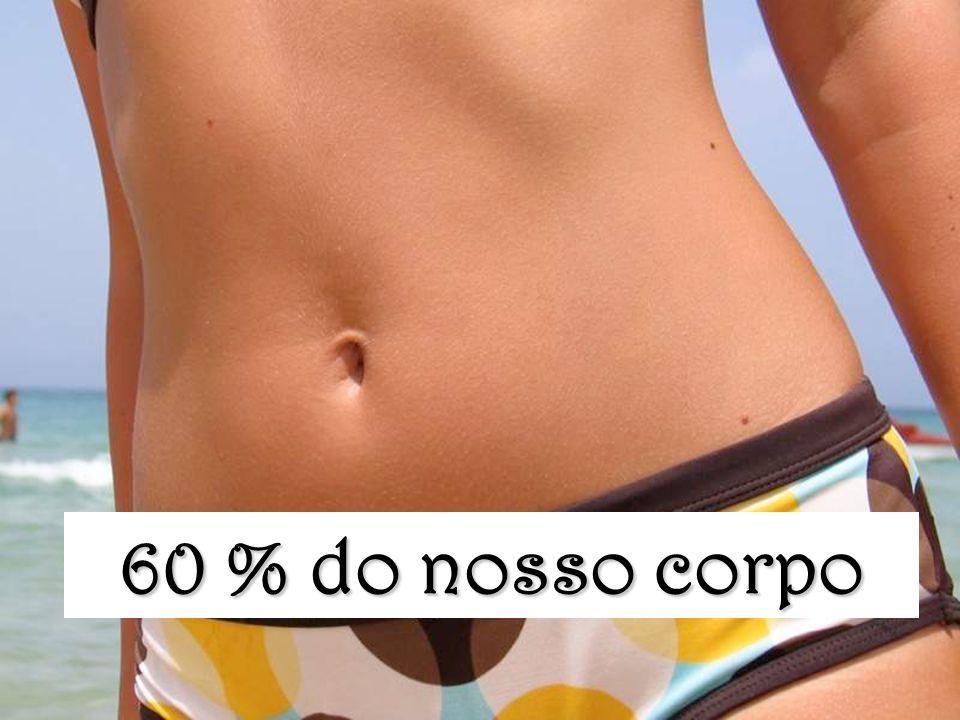 60 % do nosso corpo