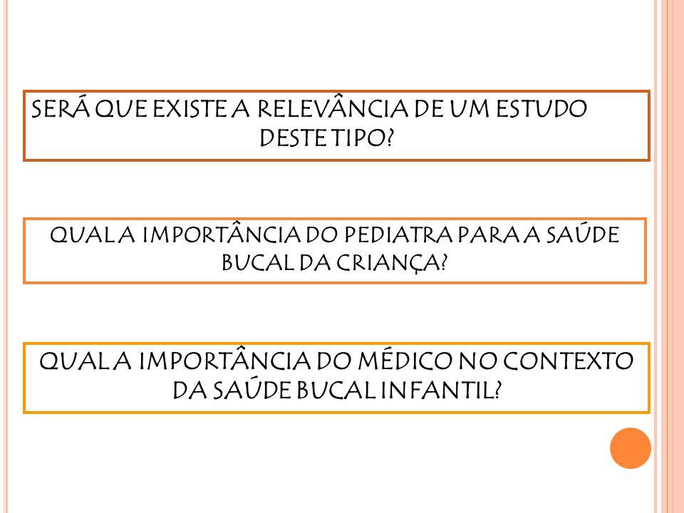 A CÁRIE CONTINUA SENDO UM PROBLEMA CONSIDERÁVEL CONHECIMENTO LIMITADO DA POPULAÇÃO SOBRE HIGIENE BUCAL DIFICULDADE DE ACESSO AOS SERVIÇOS DE SAÚDE JUSTIFICA OS MÉDICOS DEVEM PARTICIPAR COMO COADJUVANTES NA PREVENÇÃO E INTERVENÇÃO DO PROCESSO CÁRIE Lews et al, 2000 Di Marco et al, 2009