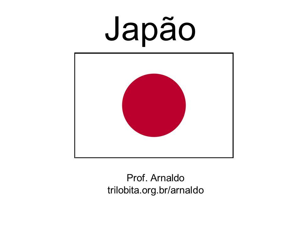 Aspectos gerais O Japão está situado no leste da Ásia, Abrange cerca de 3 mil ilhas.