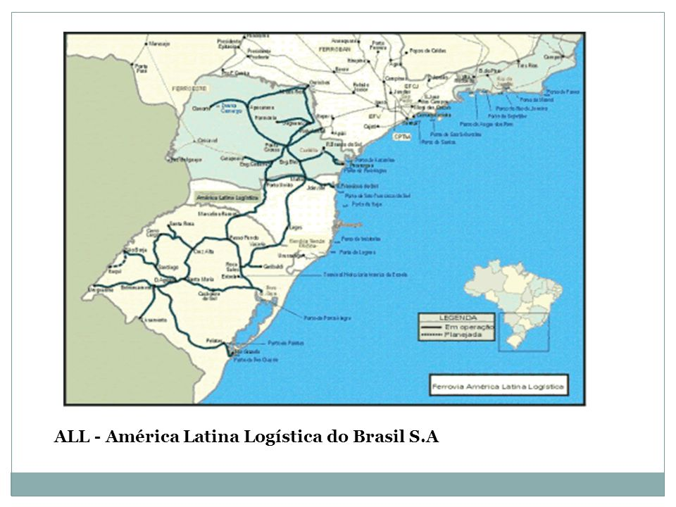 ALL - América Latina Logística do Brasil S.A