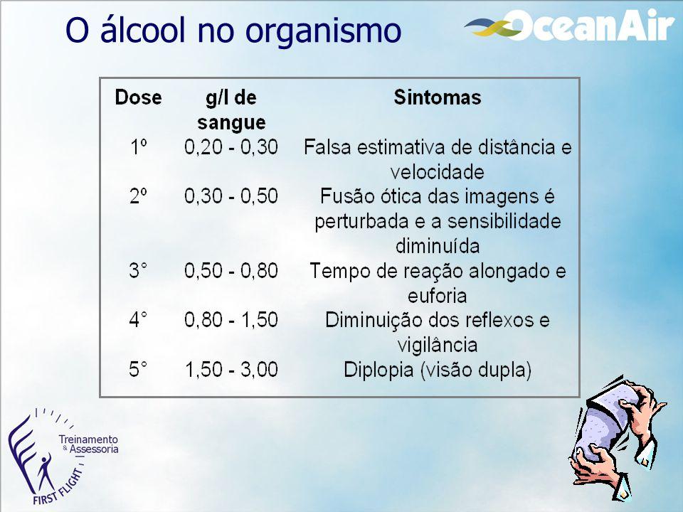 O álcool no organismo