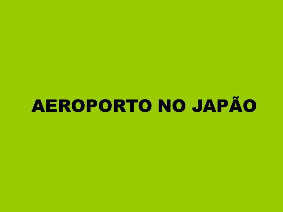 AEROPORTO NO JAPÃO