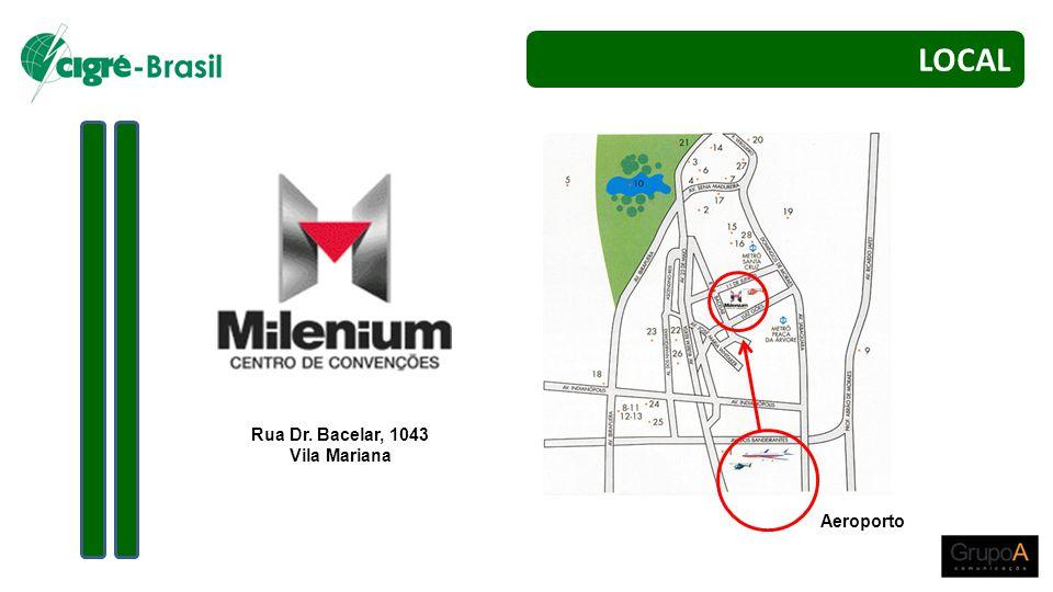Rua Dr. Bacelar, 1043 Vila Mariana Aeroporto LOCAL