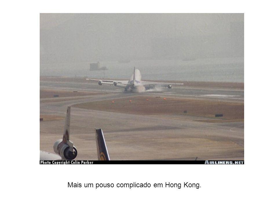 Aeroporto movimentado esse de Hong Kong !?!