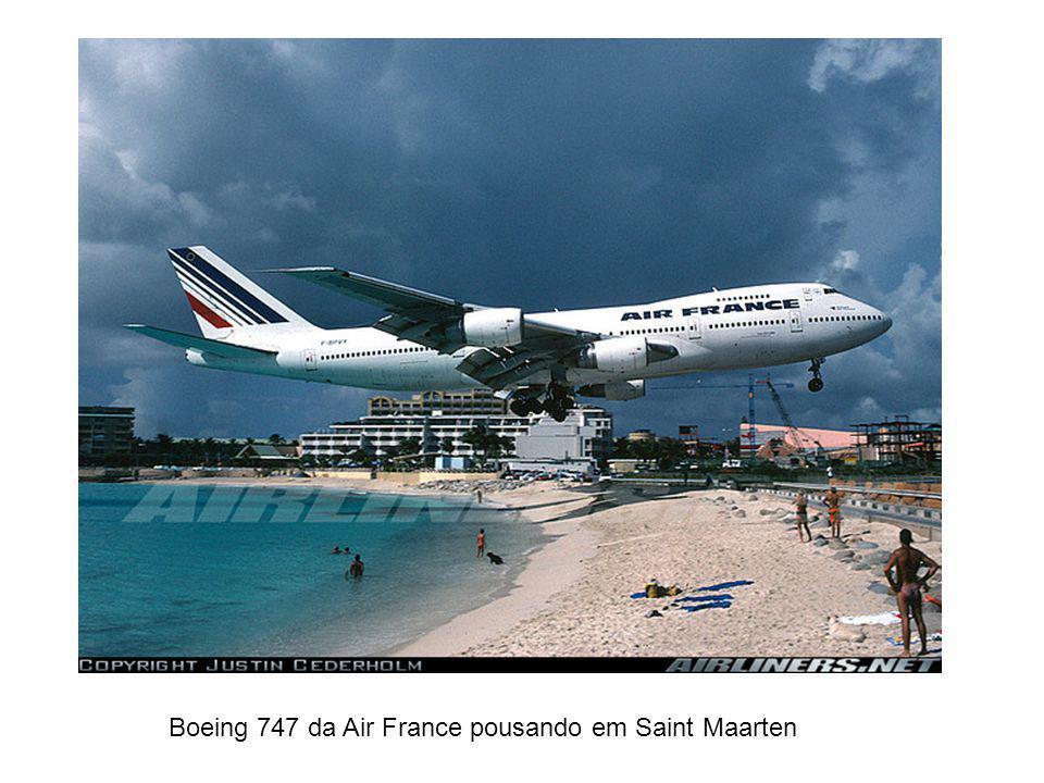 Mais uma de St. Maarten. Desta vez um 747 da KLM