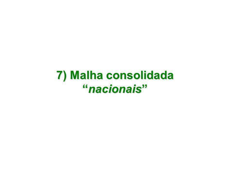 "7) Malha consolidada ""nacionais"""