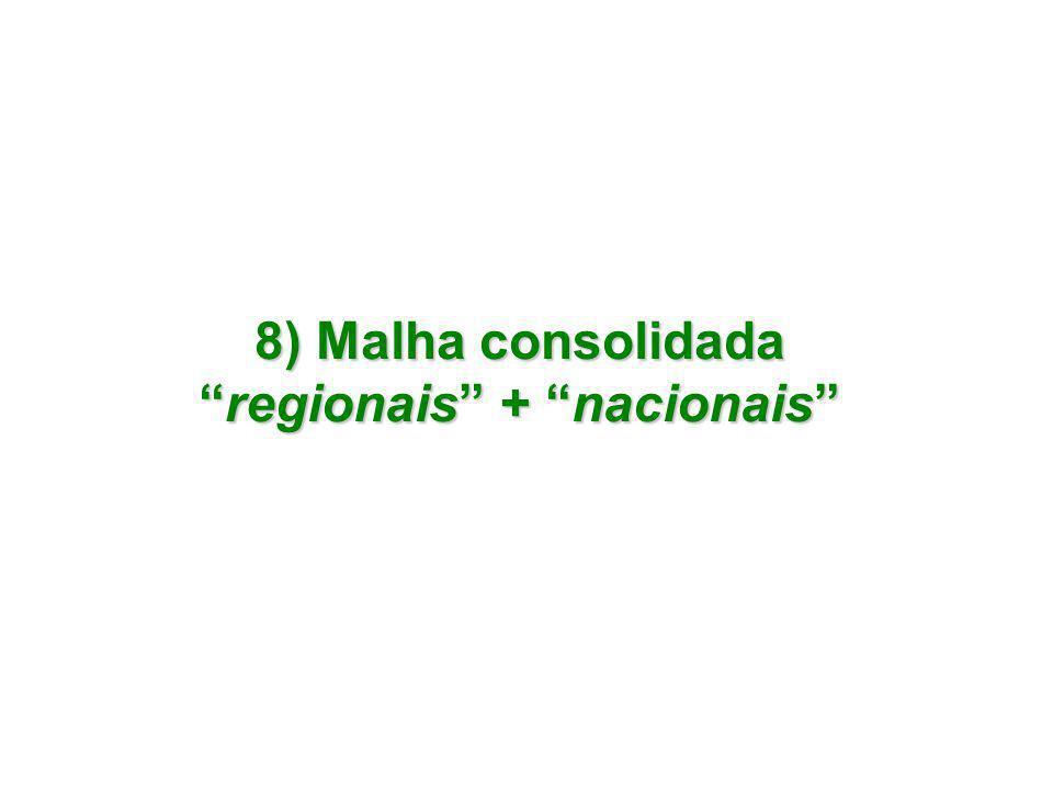 """8) Malha consolidada """"regionais"""" + """"nacionais"""""""