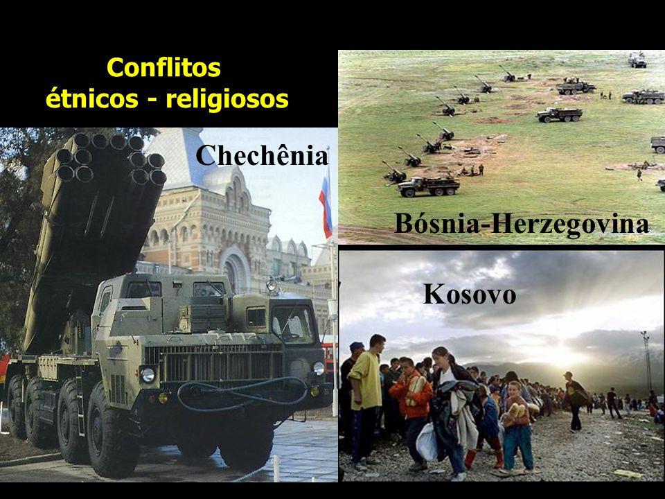 PRINCIPAIS CONFLITOS INTERNACIONAIS 1- Irlanda e Irlanda do Norte 2- Na Espanha e na França 3- Nos Balcãs 4- Ruanda e Burundi 5- Colômbia 6- Israel x