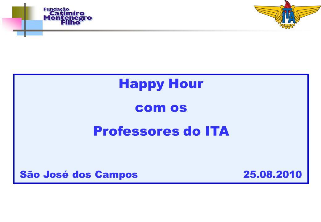 Happy Hour com os Professores do ITA São José dos Campos 25.08.2010