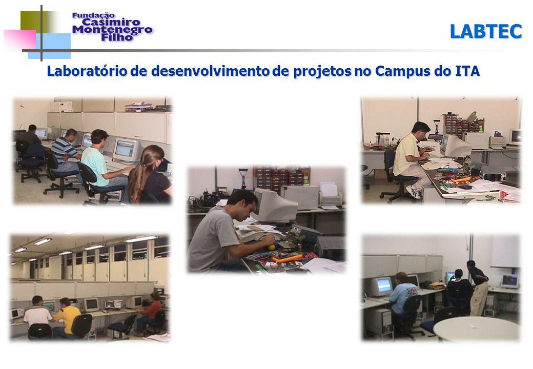 Laboratório de desenvolvimento de projetos no Campus do ITA LABTEC