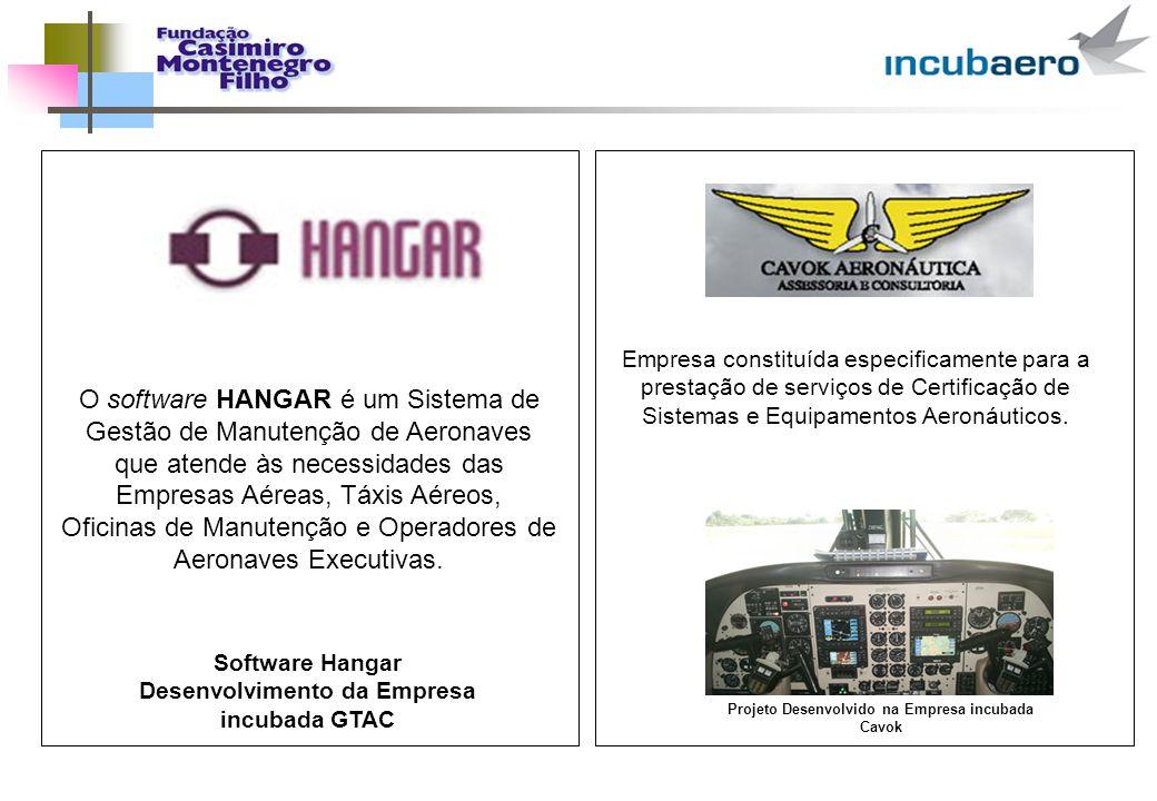 O software HANGAR é um Sistema de Gestão de Manutenção de Aeronaves que atende às necessidades das Empresas Aéreas, Táxis Aéreos, Oficinas de Manutenç