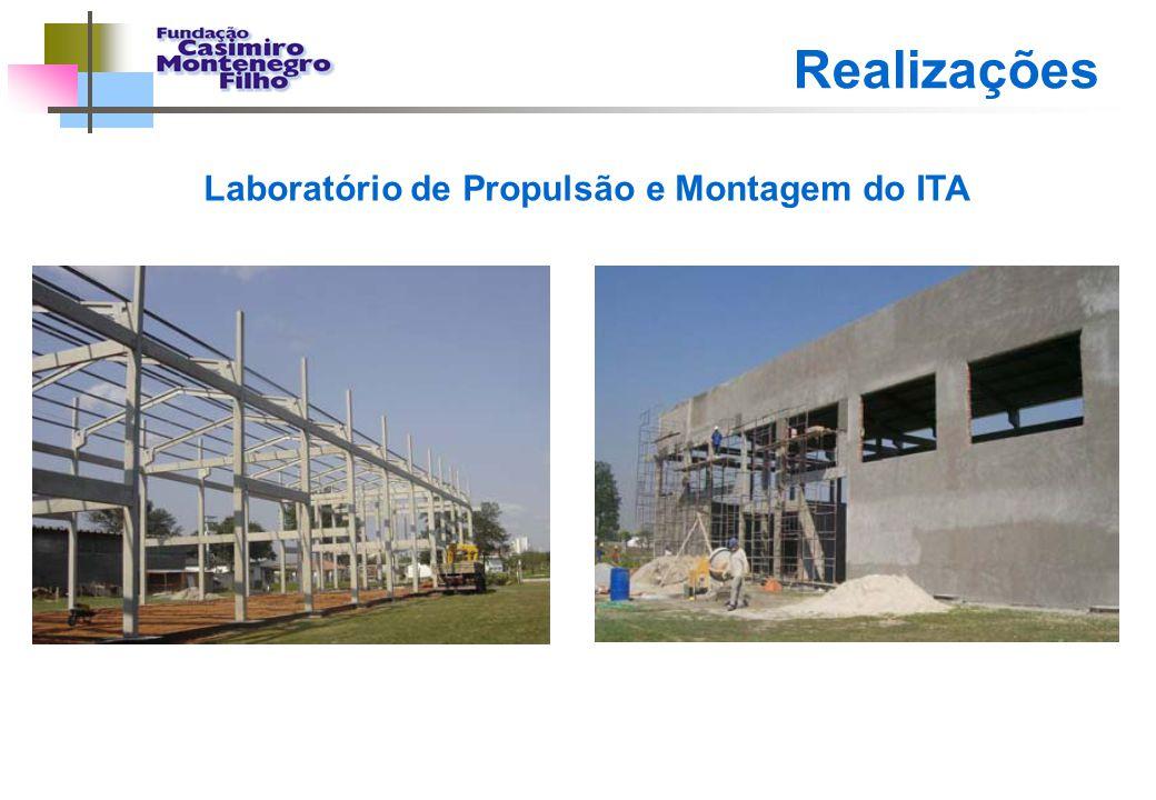 Realizações Laboratório de Propulsão e Montagem do ITA