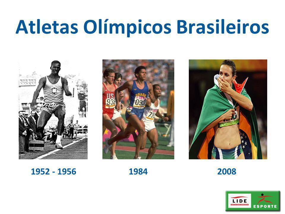 1952 - 1956 Atletas Olímpicos Brasileiros 19842008