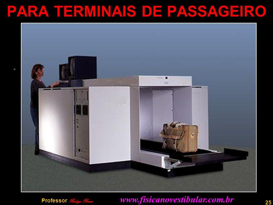 25 PARA TERMINAIS DE PASSAGEIRO Professor Rodrigo Penna www.fisicanovestibular.com.br