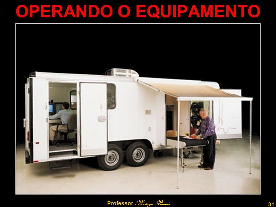 32 Professor Rodrigo Penna ROTINA DE OPERAÇÃO ►Liga-se o equipamento (chave).