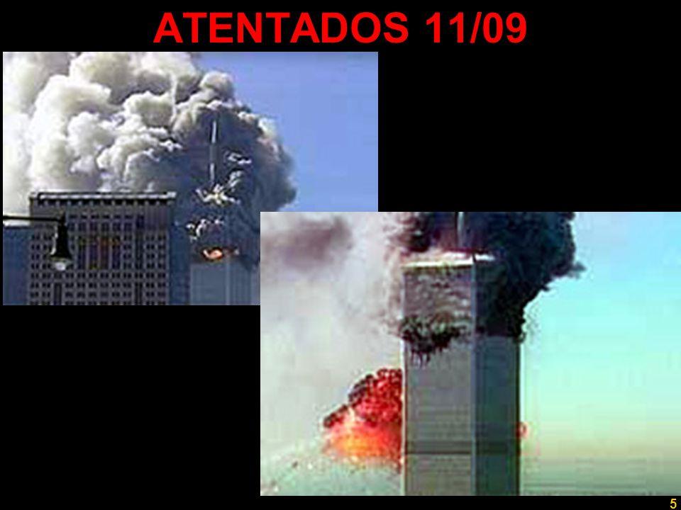 5 Professor Rodrigo Penna ATENTADOS 11/09