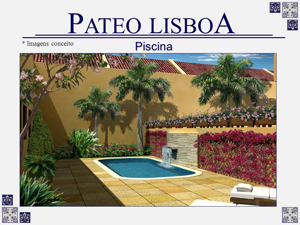 Piscina P ATEO LISBO A * Imagens conceito