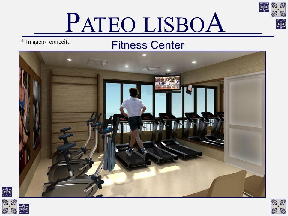 Fitness Center P ATEO LISBO A * Imagens conceito