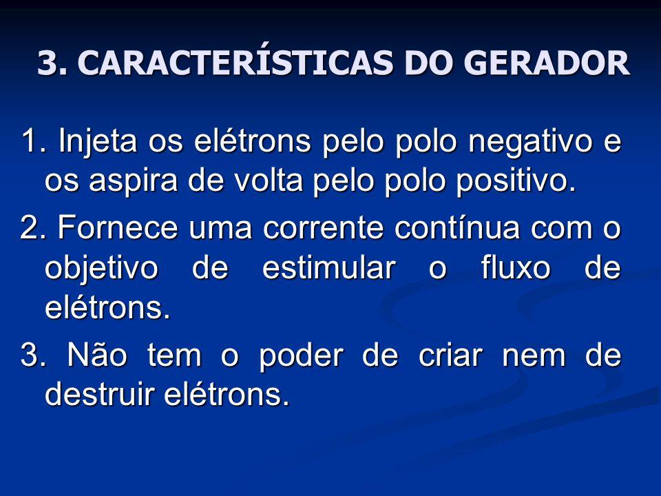 3.CARACTERÍSTICAS DO GERADOR 1.