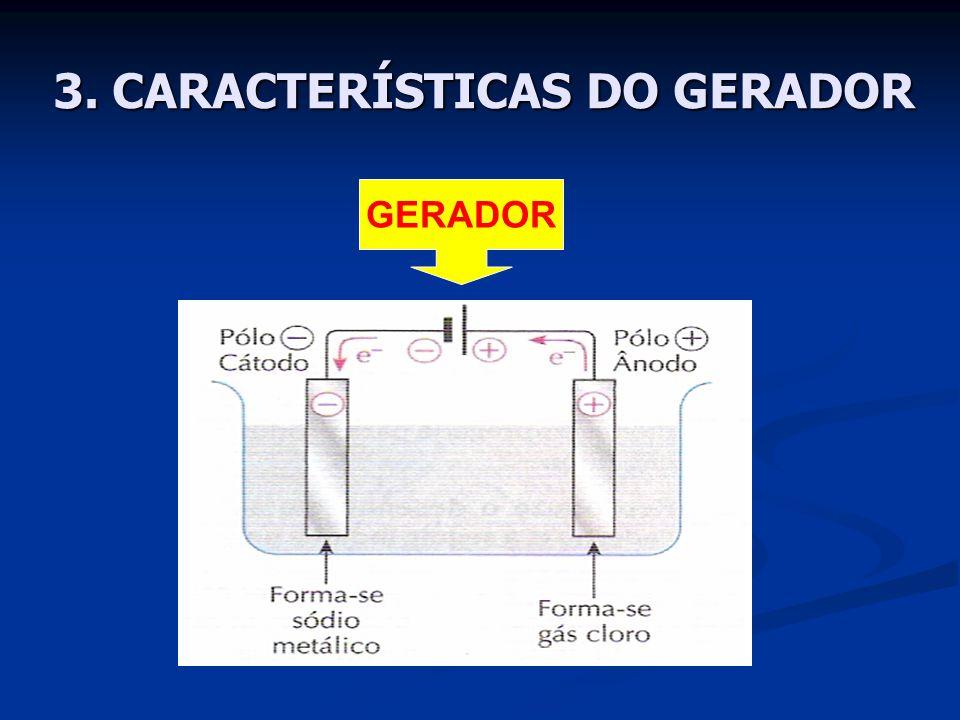 3. CARACTERÍSTICAS DO GERADOR GERADOR