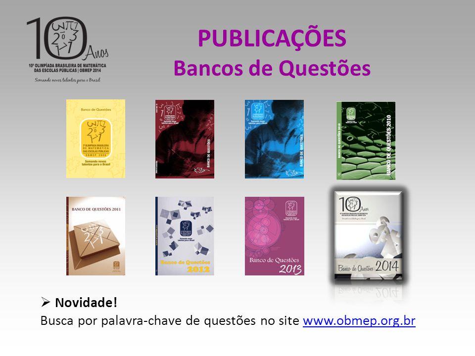 PUBLICAÇÕES Bancos de Questões  Novidade.