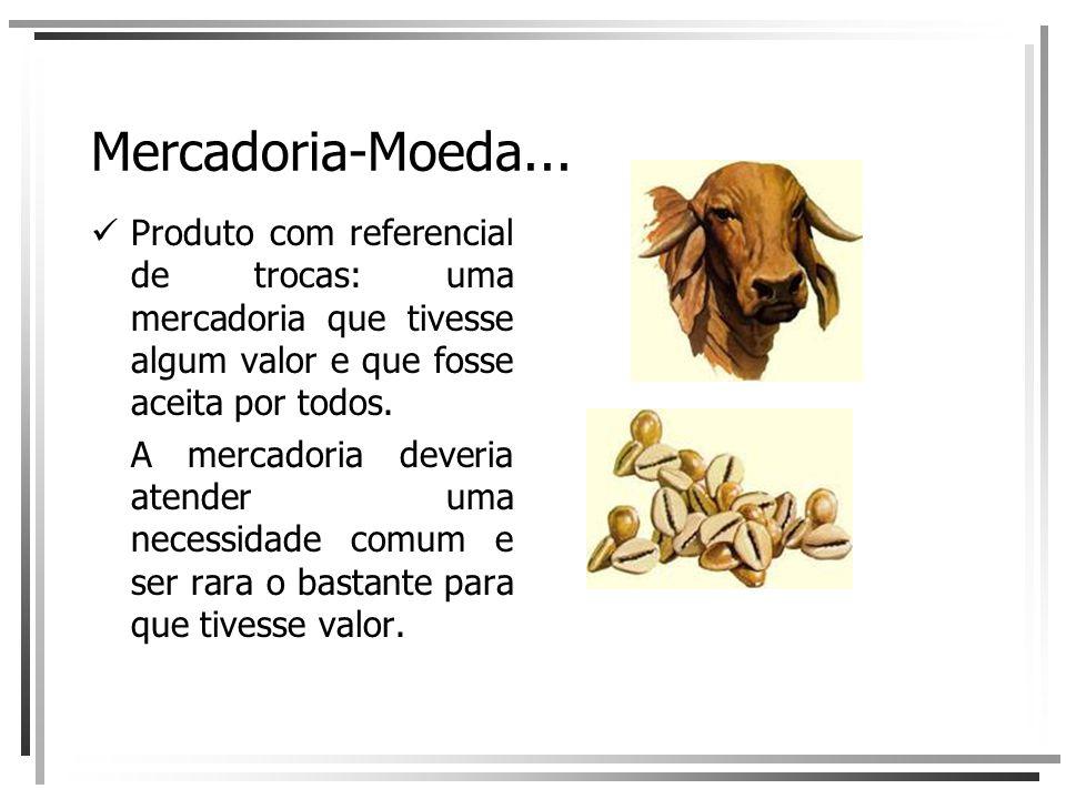 Mercadoria-Moeda...