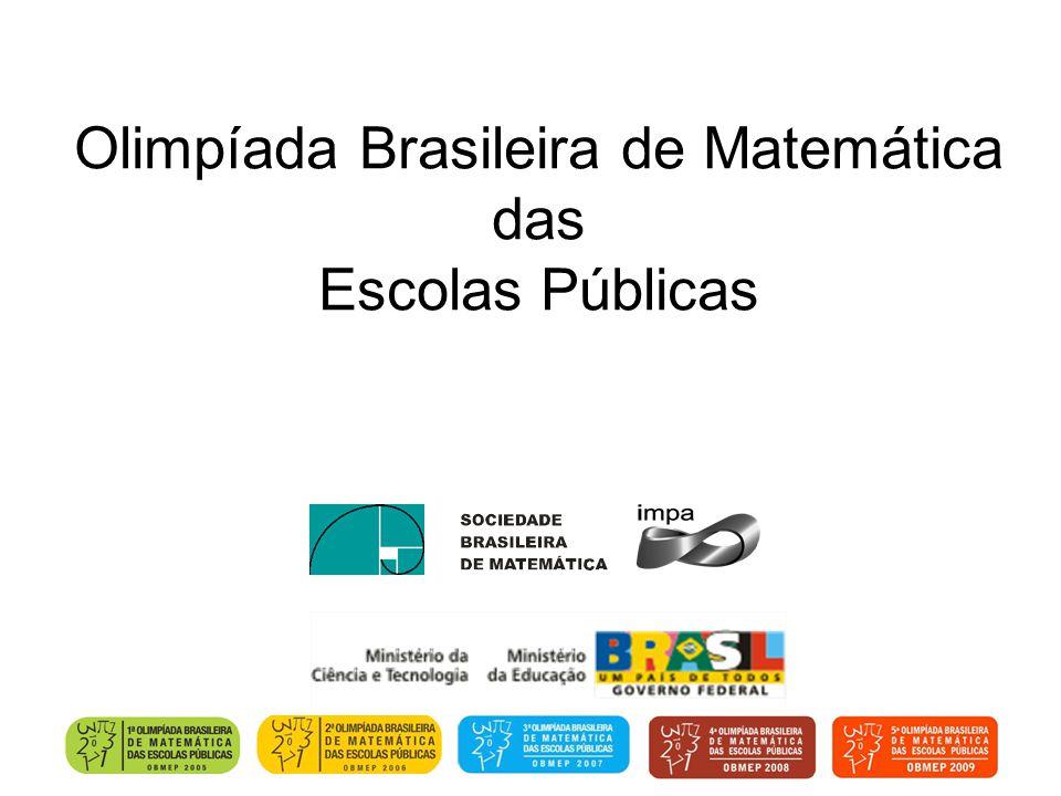 Olimpíada Brasileira de Matemática das Escolas Públicas