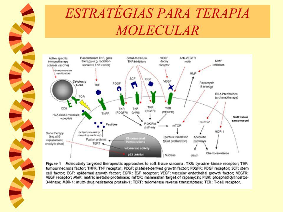 ESTRATÉGIAS PARA TERAPIA MOLECULAR