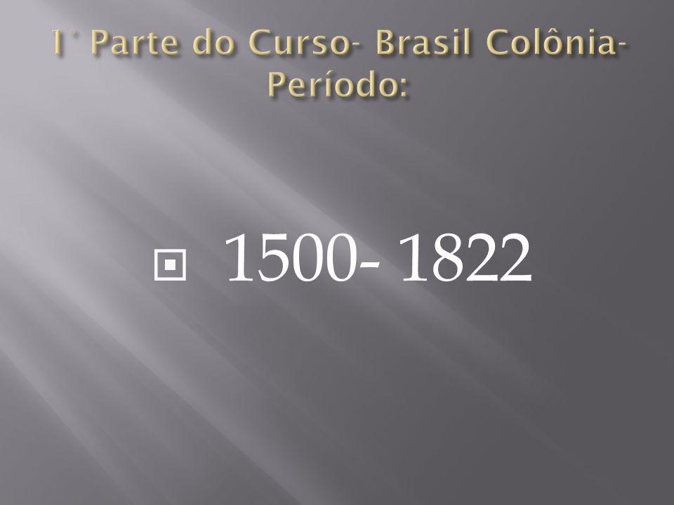 Não havia Ouro, nem Prata no Brasil; Madeira do Pau Brasil; E agora José?...