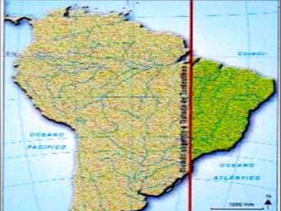 Capitanias hereditárias(15 no total) - > Donatários-> Sesmarias-> Governo Geral em Salvador-> Vilas-> Câmaras municipais