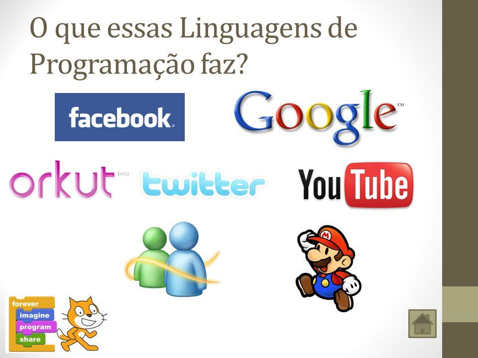 O que essas Linguagens de Programação faz?