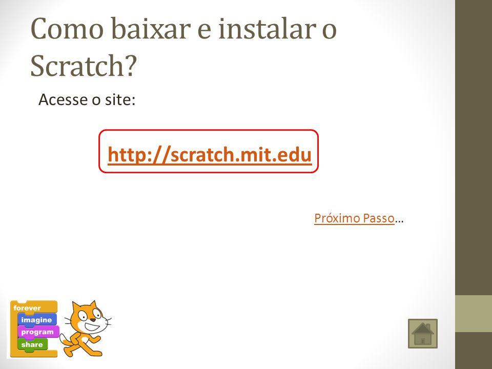 Como instalar o Scratch?