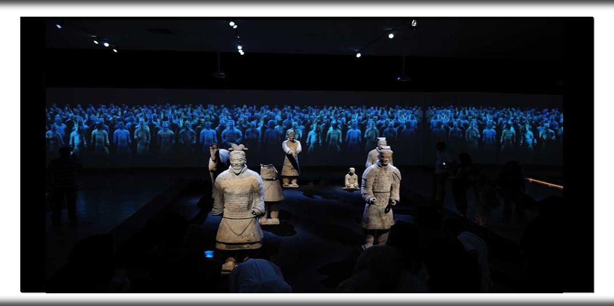 Os Gerreiros de terracota, estão considerados como Patrimonio da Humanidade pela Unesco desde o ano de 1987.