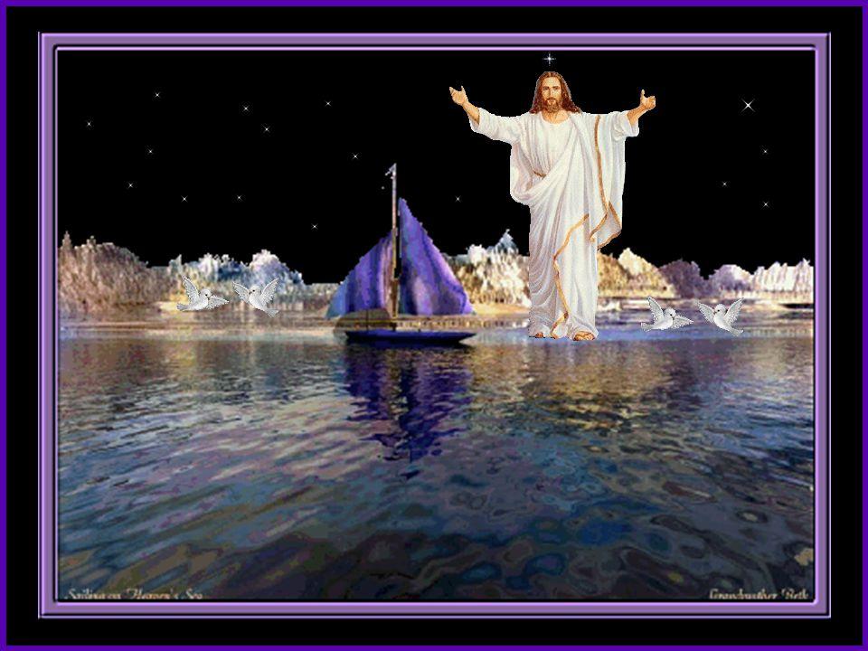 Senhor, Tu me olhaste nos olhos junto á Ti, buscarei outro mar. lá na praia, eu deixei o meu barco, a sorrir, pronunciaste meu nome,