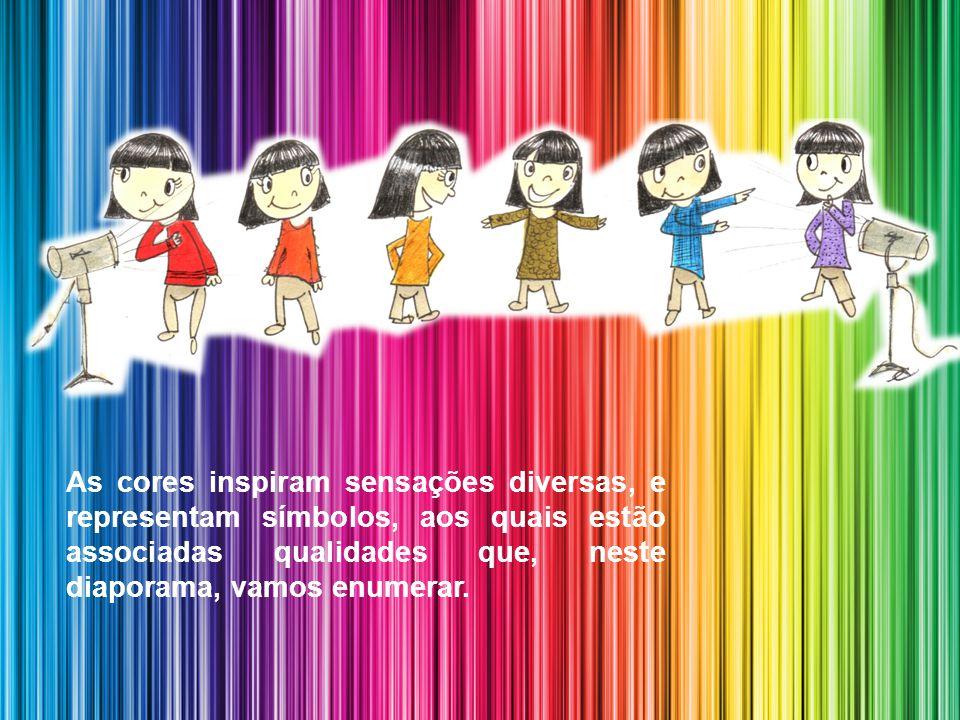 As Qualidades das Cores por Luís Aguilar (texto) e Vitália de Aguilar (formatação)